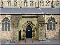 SO9198 : St  Mary and St John's Church (detail), Wolverhampton by Roger  Kidd