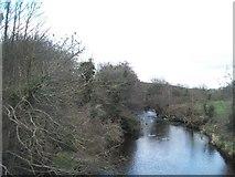 J2333 : The Bann below  McComb's Bridge by Eric Jones