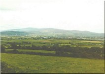 X2390 : North-northeast view from the E30 road in 1985 by John Baker