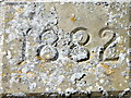 SU2743 : Date stone, St Michael's Church by Maigheach-gheal