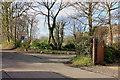 SJ8681 : Browns Lane/Cross Lane junction, Dean Row by Peter Turner