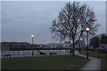 TQ7568 : By the River Medway by Oast House Archive