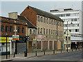 SO9198 : Disused shops in School Street, Wolverhampton by Roger  Kidd