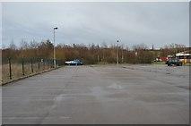 SD9311 : Ellenroad car park by Ashley Dace