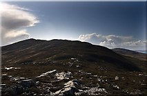 NR4177 : Towards Sgarbh Breac from summit of Beinn Thrasda, Islay by Becky Williamson