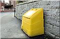 J3774 : Grit bin, Belfast (2) by Albert Bridge