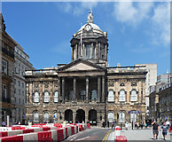 SJ3490 : Town Hall, High Street, Liverpool (1) by Stephen Richards
