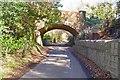 SZ2294 : Railway Bridge over Walkford Lane by Mike Smith