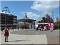 SZ0891 : Bournemouth: The Square on a sunny March lunchtime by Chris Downer