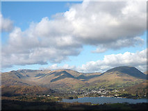 NY3704 : Ambleside and the fells from Latterbarrow by Karl and Ali