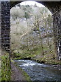 SK1172 : Viaduct arch and valley scenery, Chee Dale by Andrew Hill