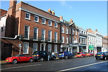 SO8455 : Georgian buildings on Foregate Street by Philip Halling