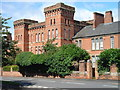 SO8651 : Norton Barracks - now converted to apartments by Peter Morgan