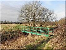 SD7908 : Footbridge over Bealey's Goit by David Dixon