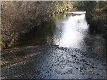 J3731 : The Shimna River from the New Bridge on Bryansford Road by Eric Jones