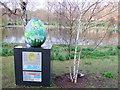 TQ2979 : Egg 159  in The Fabergé Big Egg Hunt by PAUL FARMER
