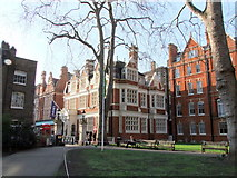 TQ2880 : Mayfair Library, South Audley Street, London by PAUL FARMER