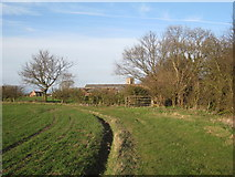 SK7045 : The footpath from East Bridgford by Jonathan Thacker