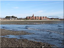 J3831 : The Estuary of the Shimna River at Low Tide by Eric Jones