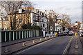 TQ2379 : Addison Gardens railway bridge by Roger Templeman