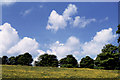 SK1663 : Spring sky at Arbor Low by Christopher Hilton