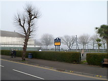 SS6188 : Tennis courts, Mumbles Gardens, Swansea by Jaggery
