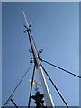 SP2864 : Flagstaff, St Mary's Church tower by Robin Stott