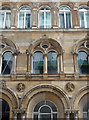 SJ3490 : Detail of Hargreaves Buildings, Chapel Street, Liverpool by Stephen Richards