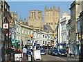 ST5445 : Wells High Street by Mike Smith