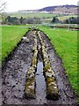 NY7666 : Aqueduct north-west of Vindolanda Roman Fort by Andrew Curtis