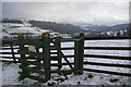 SE0025 : Kissing gate on footpath towards Hollock Lee Bottom by Phil Champion