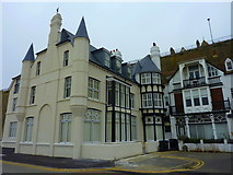 TR3865 : A restored building on Marina Esplanade, Ramsgate by pam fray