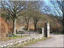 SD9771 : Entrance to Scargill House by John Slater