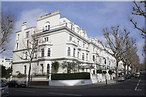 TQ2479 : Holland Park road junction by Roger Templeman