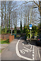 SU4829 : Path at end of Moss Road by Peter Facey