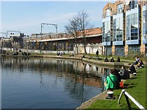 TQ2884 : Regent's Canal, Camden Town by Stephen McKay
