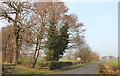 SJ8168 : Swettenham/Lower Withington parish boundary, Long Lane by Peter Turner