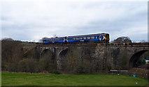 NS5160 : Salterland Railway Viaduct, Barrhead by wfmillar