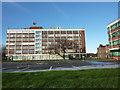 SJ8293 : Mauldeth House, Hough End Hall and 550 Mauldeth Road West by Phil Champion