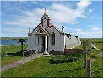 HY4800 : Italian Chapel, Lamb Holm, Orkney Islands by Robin Drayton
