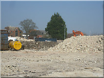 SU6351 : Wonder where the rubble will go? by Sandy B