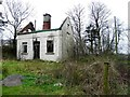H4765 : Ruined cottage, Tattyreagh Glebe by Kenneth  Allen