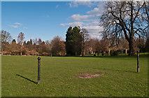 "TQ4666 : ""Goalposts"", Priory Gardens by Ian Capper"