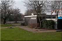 TQ4666 : Public Conveniences, Priory Gardens by Ian Capper