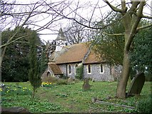 TR3254 : The church at Ham by Elliott Simpson