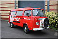 SP3271 : VW Camper van by Richard Croft