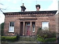 SJ3985 : Lodge, Wood End Park by JThomas