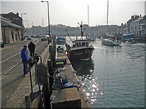 SY6778 : Weymouth - Harbour by Chris Talbot