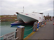 SY6878 : Weymouth - Condor Express by Chris Talbot