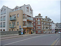 SY6778 : Weymouth - Flats by Chris Talbot
